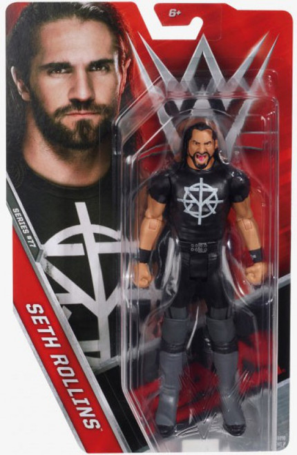 WWE Wrestling Series 77 Seth Rollins Action Figure