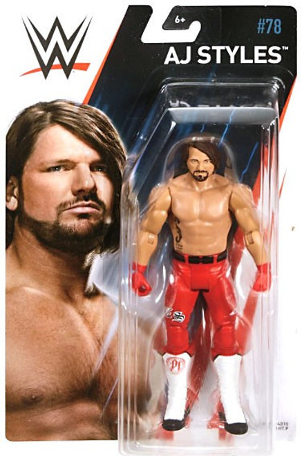 WWE Wrestling Series 78 AJ Styles Action Figure