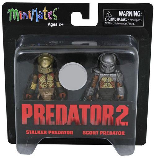 Predator 2 Minimates Series 4 Stalker Predator & Scout Predator Exclusive 2-Inch Minifigure 2-Pack