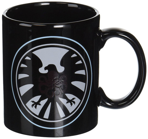 Marvel Avengers Shield vs Hydra Heat Changing Exclusive Ceramic Mug