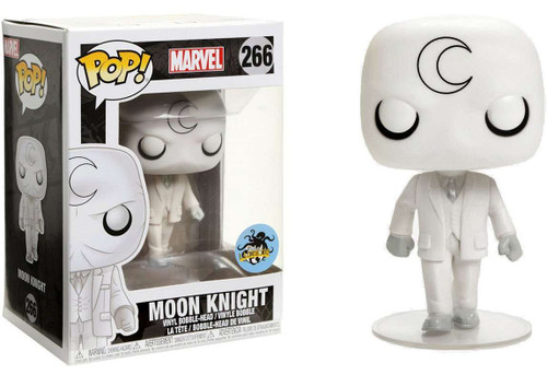 Funko POP! Marvel Moon Knight Exclusive Vinyl Bobble Head #266 [No Hood, No Cape]