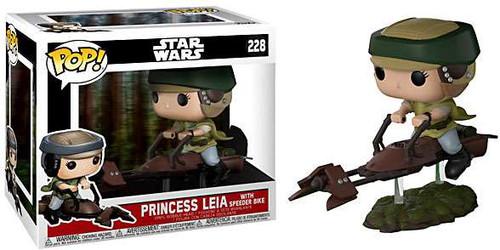 Funko POP! Star Wars Princess Leia with Speeder Bike Deluxe Vinyl Figure #228 [Regular Version]