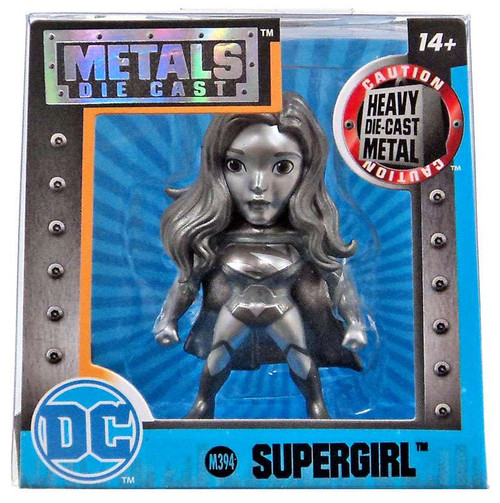 DC Metals Supergirl Action Figure M394 [Silver]