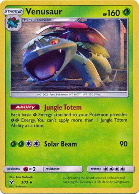 Pokemon Trading Card Game Shining Legends Uncommon Venusaur #3