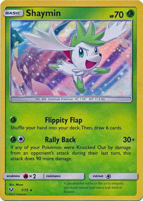 Pokemon Trading Card Game Shining Legends Rare Holo Shaymin #7