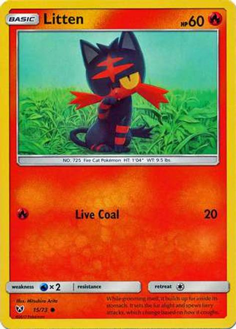 Pokemon Trading Card Game Shining Legends Common Litten #15