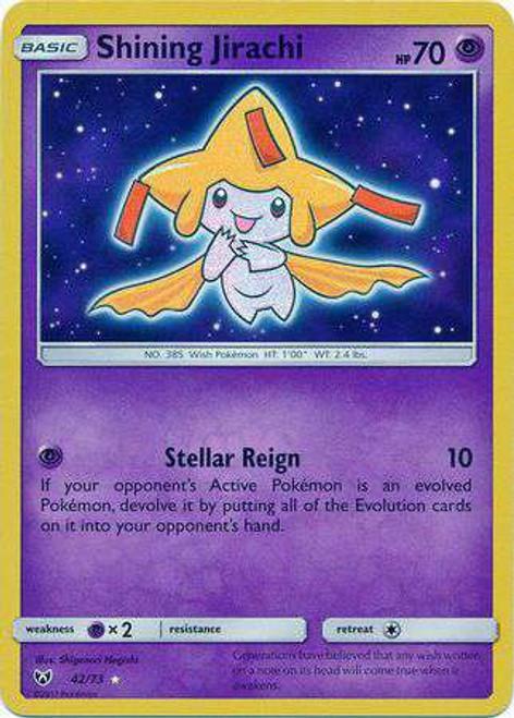 Pokemon Trading Card Game Shining Legends Shining Holo Shining Jirachi #42