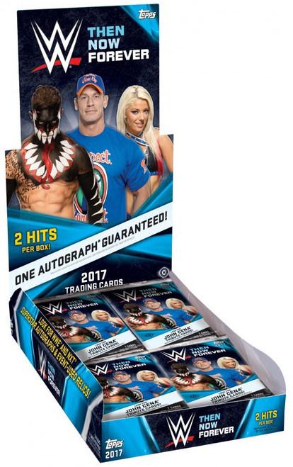 WWE Wrestling Topps 2017 Then Now Forever Trading Card HOBBY Box [24 Packs]