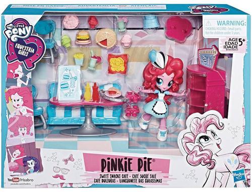 My Little Pony Equestria Girls Minis Pinkie Pie Sweet Snacks Cafe Playset