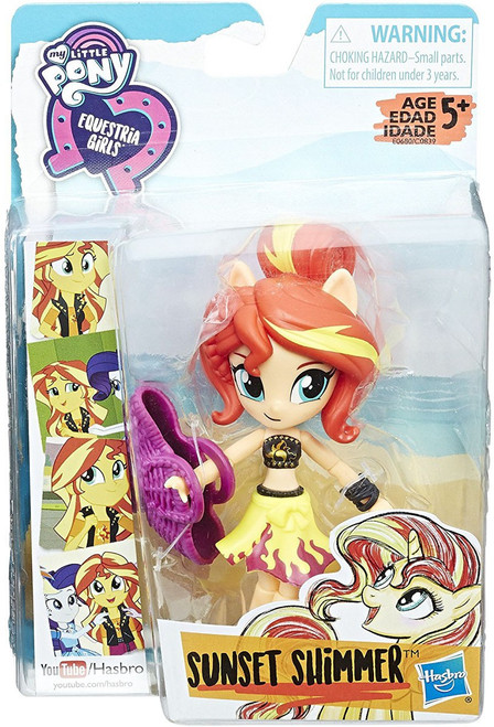 My Little Pony Equestria Girls Beach Collection Sunset Shimmer Doll