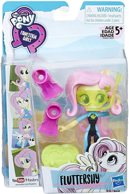 My Little Pony Equestria Girls Beach Collection Fluttershy Doll