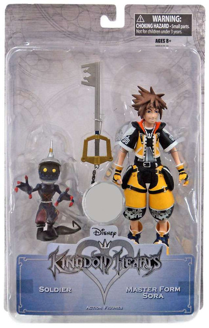 Disney Kingdom Hearts Master Form Sora & Soldier Exclusive Action Figure 2-Pack