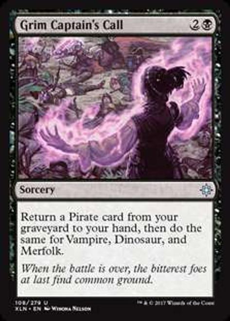MtG Ixalan Uncommon Foil Grim Captain's Call #108