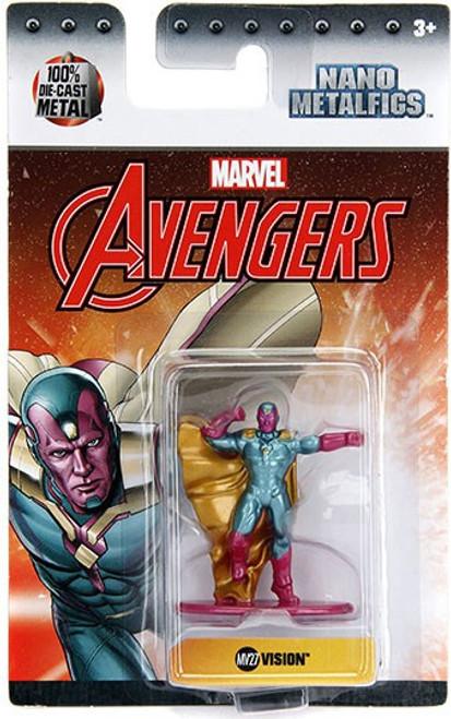 Marvel Avengers Nano Metalfigs Vision 1.5-Inch Diecast Figure