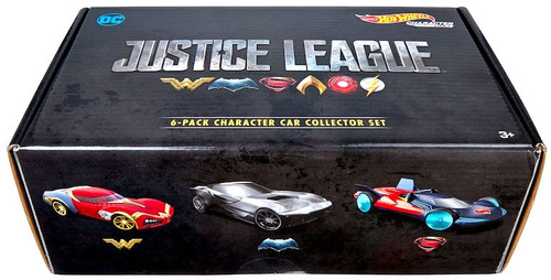 Hot Wheels Justice League Movie Justice League Character Car Collector Set