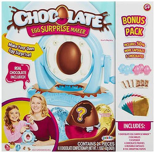 Chocolate Egg Surprise Maker Exclusive Activity Play Set [Bonus Pack]