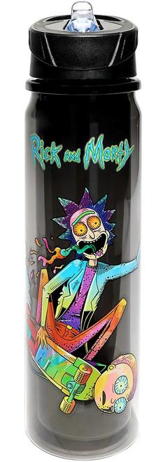 Rick & Morty Skateboard Water Bottle