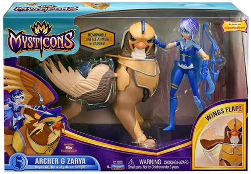 Nickelodeon Mysticons Archer & Zarya 7-Inch Figure Set