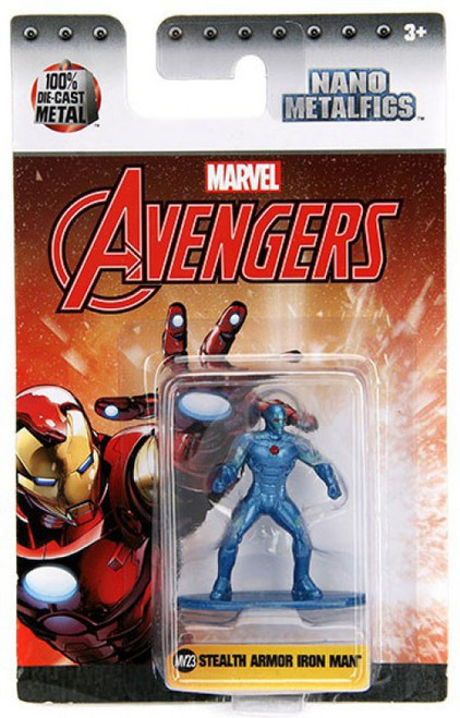 Marvel Avengers Nano Metalfigs Stealth Armor Iron Man 1.5-Inch Diecast Figure MV31