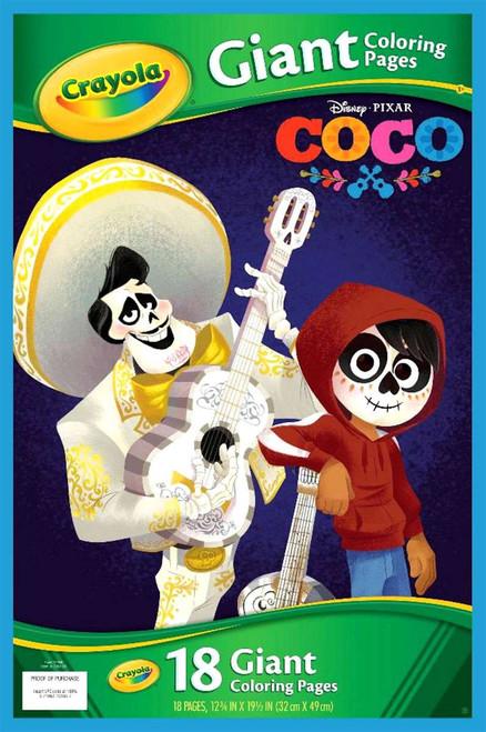 Crayola Disney / Pixar COCO Giant Coloring Pages Coloring Book