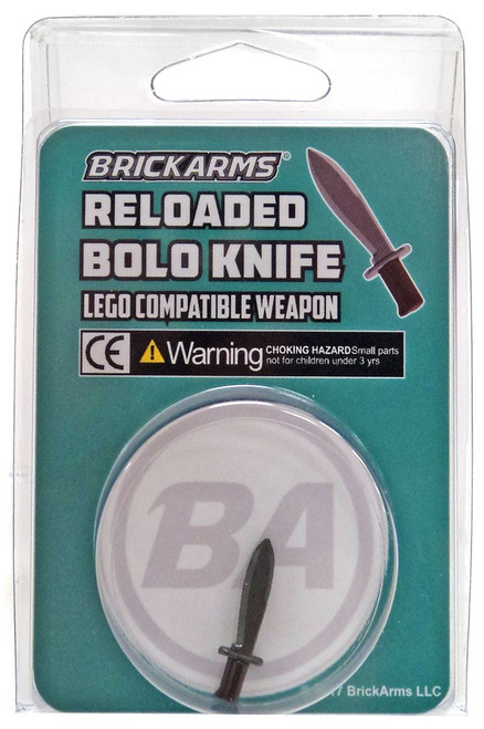 BrickArms Bolo Knife Minifigure Accessory [Overmolded]
