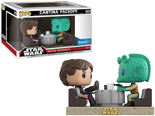 Funko POP! Star Wars Cantina Faceoff (Han Solo & Greedo) Exclusive Vinyl Figure 2-Pack [Movie Moments]