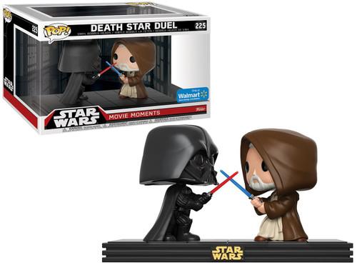 Funko POP! Star Wars Death Star Duel (Darth Vader & Obi Wan) Exclusive Vinyl Figure 2-Pack [Movie Moments]