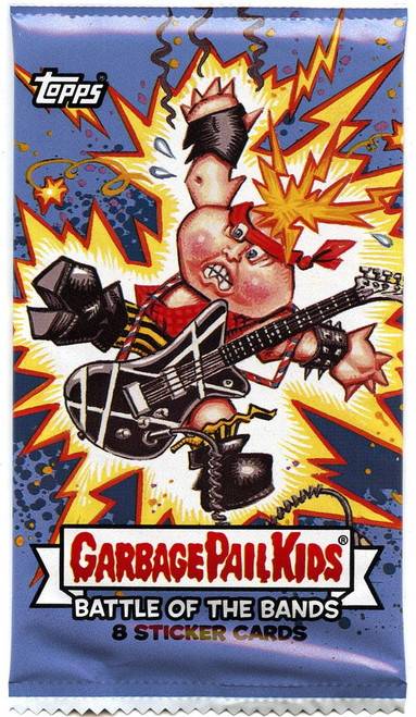 Garbage Pail Kids Topps Series 2 Battle of the Bands Trading Card Sticker Pack [8 Cards]