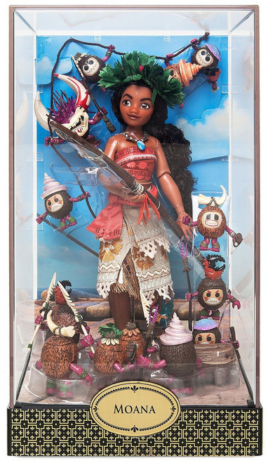 Disney Designer Folktale Series Moana & Heihei Exclusive 11-Inch Doll
