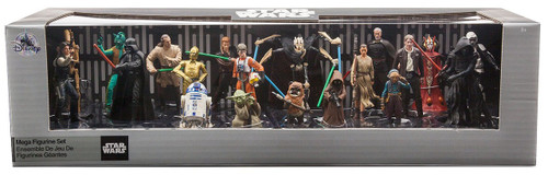 Disney 2017 Star Wars Exclusive 20-Piece PVC Mega Figurine Playset