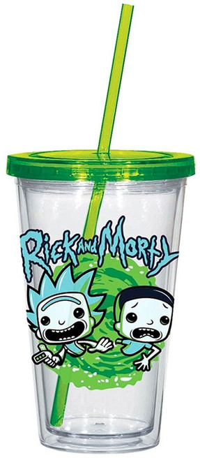 Funko Rick & Morty 16 Ounce Acrylic Cup