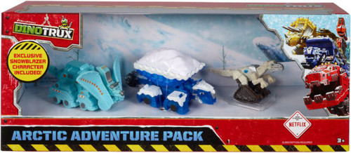 Dinotrux Arctic Adventure Diecast Figure 3-Pack [Exclusive Snowblazer!]