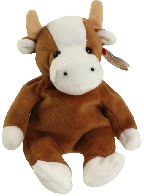 Beanie Babies Bessie the Cow Beanie Baby Plush