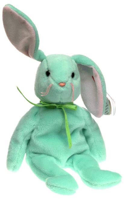 Beanie Babies Hippity the Bunny Beanie Baby Plush [Green]