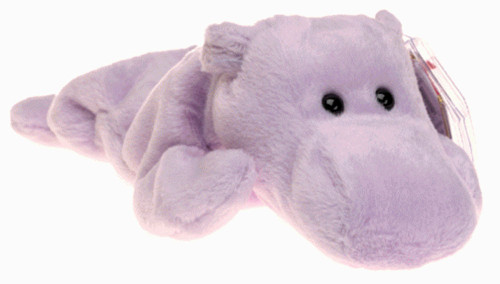 Beanie Babies Happy the Hippo Beanie Baby Plush