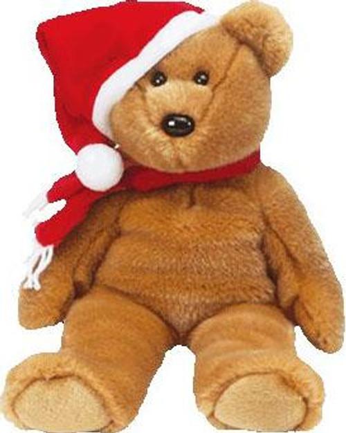 Beanie Babies 1997 Holiday Teddy Beanie Baby Plush