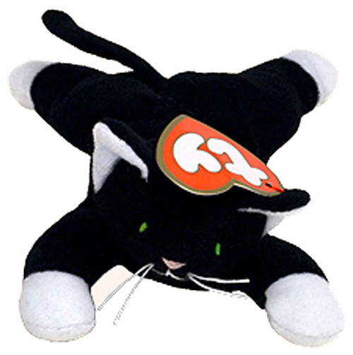 Beanie Babies McDonalds 1998 Zip the Cat Teenie Beanie Plush