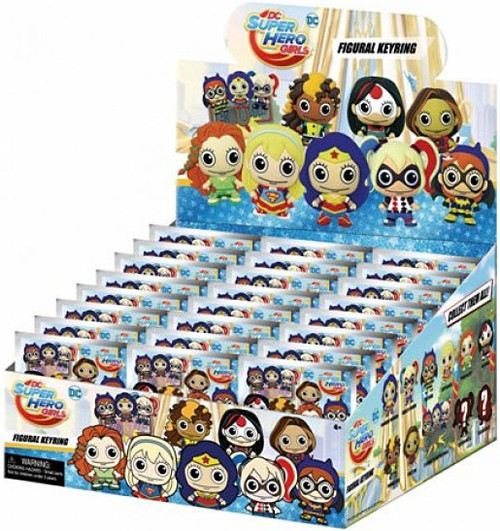 3D Figural Keyring DC Super Hero Girls Mystery Box [24 Packs]