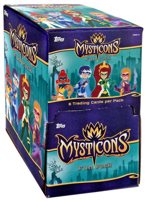 Topps Mysticons Gravity Feed Box [36 Packs]