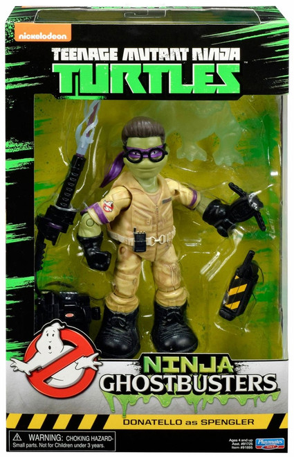 Teenage Mutant Ninja Turtles Ninja Ghostbusters Donatello as Spengler Action Figure