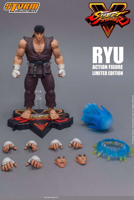 Street Fighter V Ryu Exclusive Action Figure [Brown Variant]