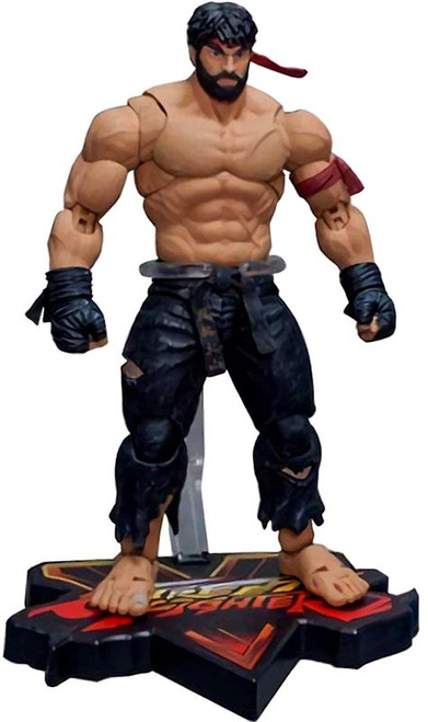 Street Fighter V Hot Ryu Exclusive Action Figure [Black Pants ]