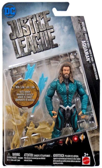 DC Justice League Movie Aquaman Exclusive Action Figure [Battle Armor]