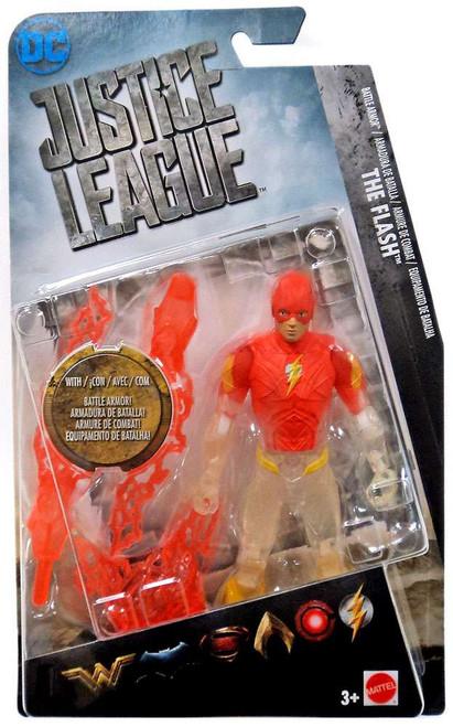 DC Justice League Movie The Flash Exclusive Action Figure [Battle Armor]