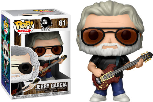 Funko Grateful Dead POP! Rocks Jerry Garcia Vinyl Figure #61