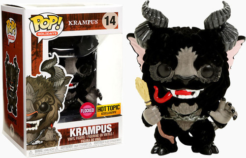 Funko POP! Holidays Krampus Exclusive Vinyl Figure #14 [Flocked, Black Version]