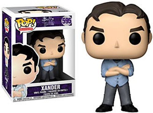 Funko Buffy The Vampire Slayer POP! TV Xander Vinyl Figure #595 [No Eye Patch, Regular Version]