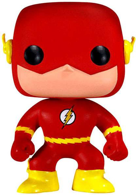 Funko DC Universe POP! Heroes The Flash Vinyl Figure #10 [Re-Issue]