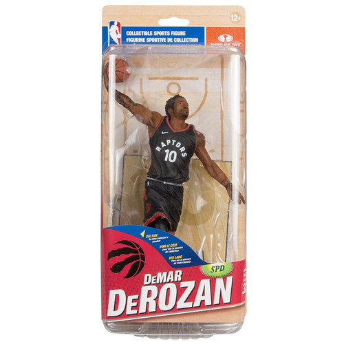 McFarlane Toys NBA Toronto Raptors Sports Picks Series 32 DeMar DeRozan Action Figure