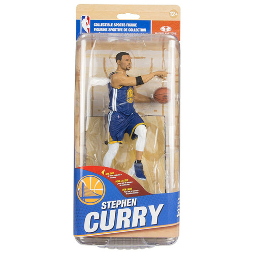 McFarlane Toys NBA Golden State Warriors Sports Picks Series 32 Stephen Curry Action Figure [Blue Uniform]